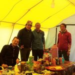 Dining at Everest Base Camp