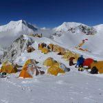 Camp 1 of Cho Oyu at 6400m.